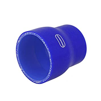 uxcell 3-Ply Straight Reducer Silicone Hose 51mm to 64mm