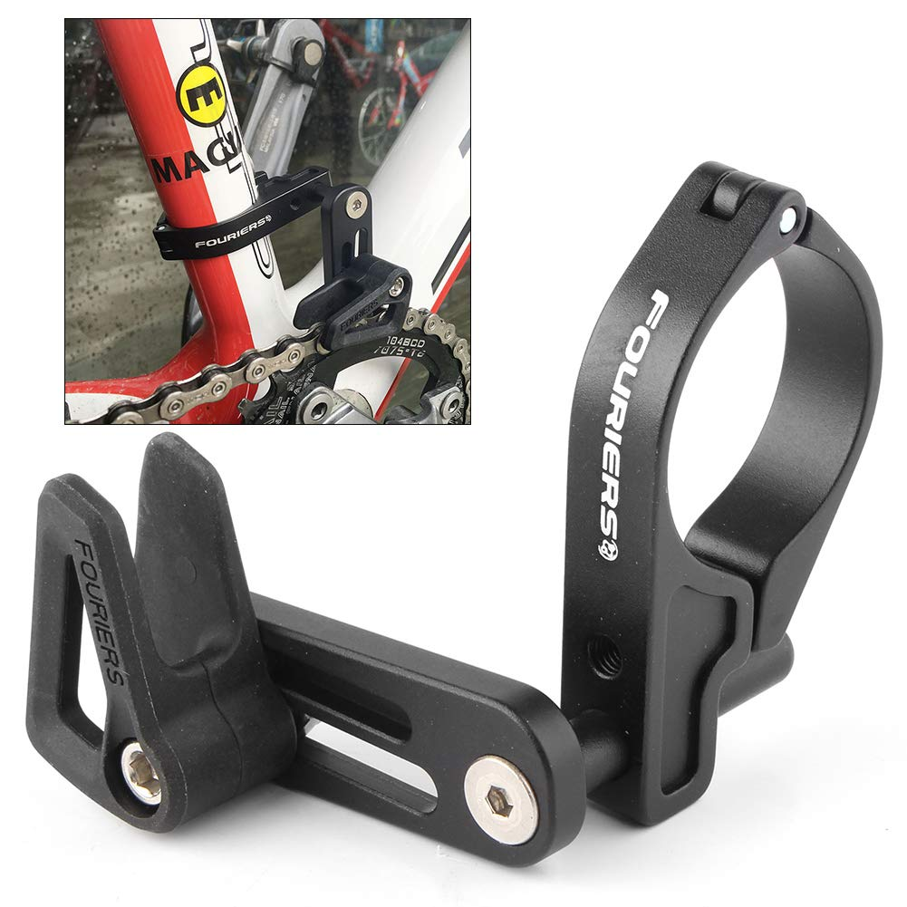 Beautylady Bike Chain Guide Chain Guard w/Seat Clamp for 34.9mm 31.8mm Seat Tube Single Speed