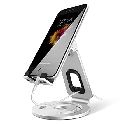 Amazoncom Cell Phone Stand Adjustable Anypro Aluminum Phone Stand