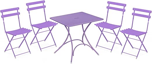 Ciel Emu Arc Pigalle cm76x764 Pliante Table en Set L5AqR34j