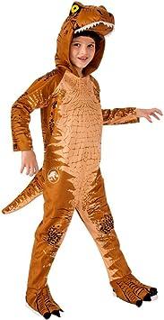 Horror-Shop T-Rex Disfraz De Niño con Capucha Marrón S ...