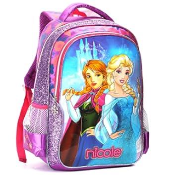 9a28965f1 Mochila Escolar Frozen Seanite de Costas Tam G: Amazon.com.br ...