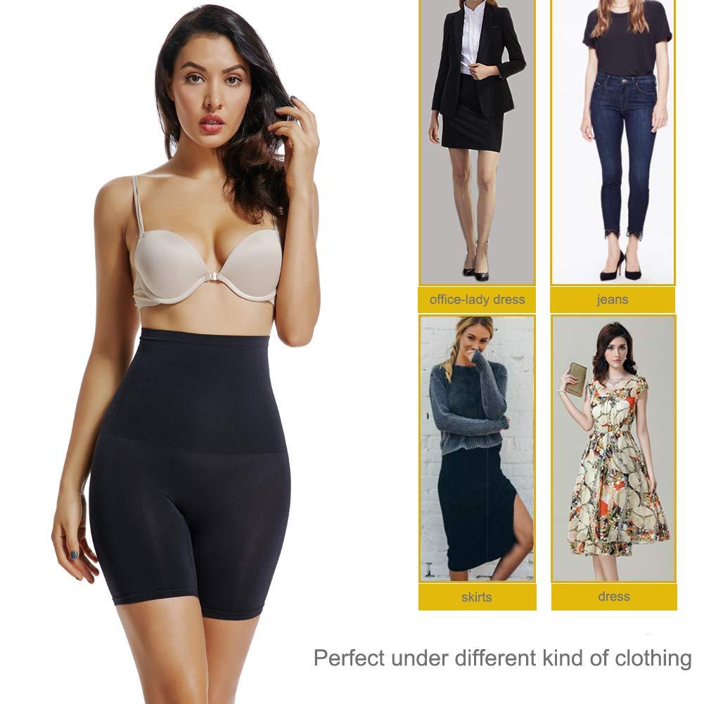 Joyshaper Pantaloncino Snellente Donna Short Contenitivo Modellante Vita Alta Guaina Contenitiva Elastica Shapewear Perfetto per Tutti i Tipi di Abbigliamento