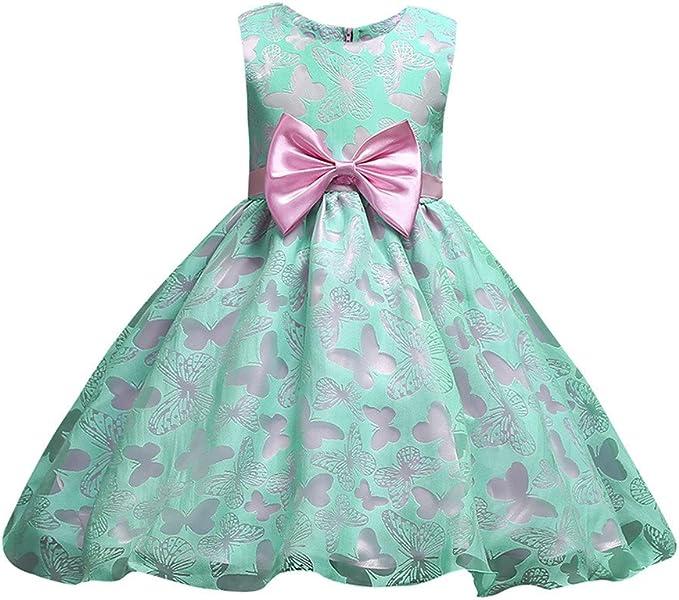 Vestiti Eleganti Bimba 7 Anni.Mbby Vestiti Cerimonia Bambina 2 7 Anni Vestito Da Carnevale Per