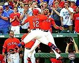 "Rougned Odor Elvis Andrus Texas Rangers Action Photo (Size: 8"" x 10"")"