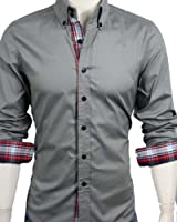 GL Fashions® Men's Casual Long Sleeve Dress Shirt