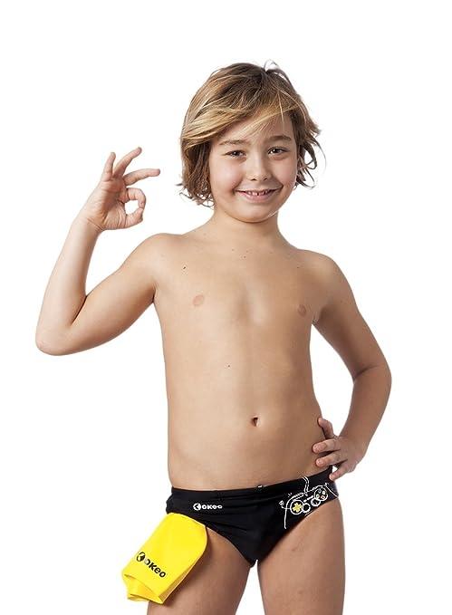 69693233a309b1 Okeo -Attila- Costume Slip Bambino per Il Nuoto: Amazon.it: Sport e ...