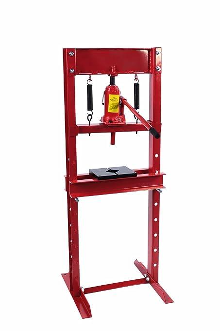 Amazon.com: Dragway Tools 12 Ton Hydraulic Shop Floor Press with ...
