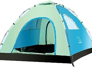 allight Outdoor Tente plage plage coquillages Tentes Family Protection solaire protection UV UV50+ Portable Super facile à Bleu, Jaune, convient pour 3–4personnes convient pour 3-4personnes Grun
