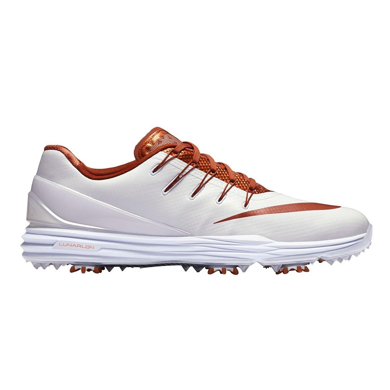 NIKE Lunar Control 4 College Golf Shoes B01MYGPKAF 12|Texas