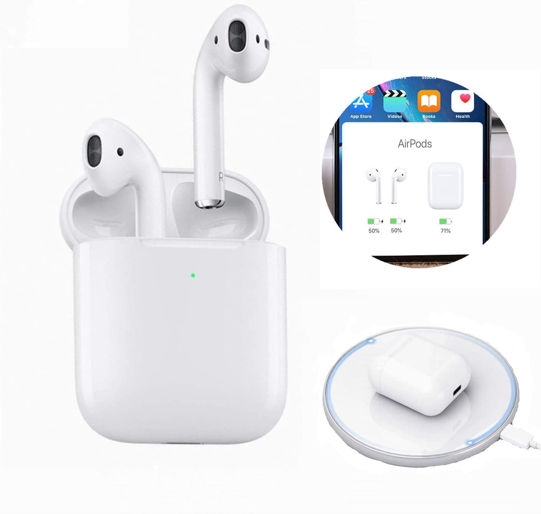 2020 Nuevos Auriculares inal/ámbricos Bluetooth Touch Control con conexi/ón autom/ática Compatible con iOS//Android//Mac-X10
