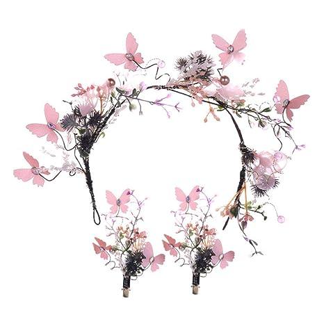 Frauen Braut Blume Headwear Strass Haarspange Kristall Haarspange Bobby Pin ZP