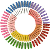 Clothespin Mini Photo Paper Peg Pin Clothespin Craft Mini Colorful Natural Wooden Clips 100 Pieces