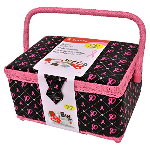 pink and black sewing box - 3