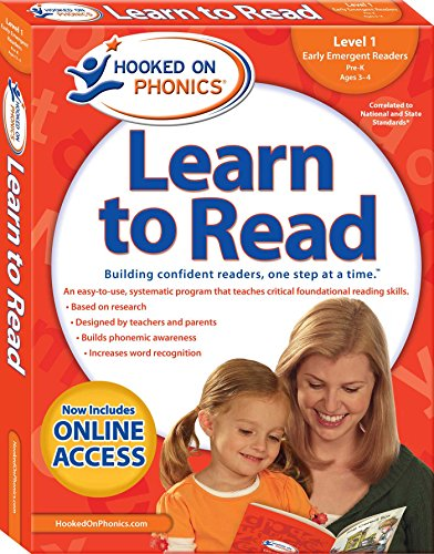 Hooked on Phonics Learn to Read - Level 1: Early Emergent Readers (Pre-K | Ages 3-4) (1) (Hooked On Phonics Readers)