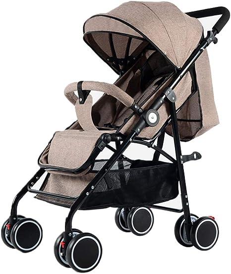 Cochecito ligero, carrito de viaje compacto, silla de paseo urbana ...