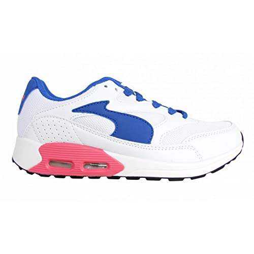 John Smith Zapatillas Deporte de Niño y Niña y Mujer Reso Jr 15I Blanco Talla 37: Amazon.es: Zapatos y complementos