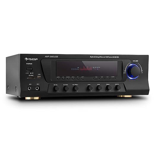 5 opinioni per auna AMP-3800 amplificatore surround ricevitore audio 5.1 multifunzione (sistema