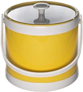product image for Mr. Ice Bucket Springtime 3-Quart Ice Bucket, Yellow
