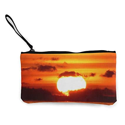 Cute Canvas Wristlets Summer Sunset, Sunset Over The Sea ...