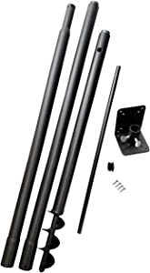 Squirrel Stopper Universal Pole Kit, Great for Bird Houses and Bird