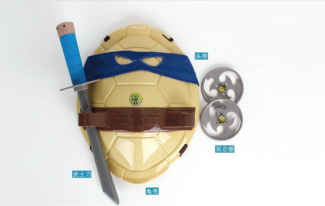 Tortugas Ninjas. Leonardo - Caparazón + armas + antifaz ...