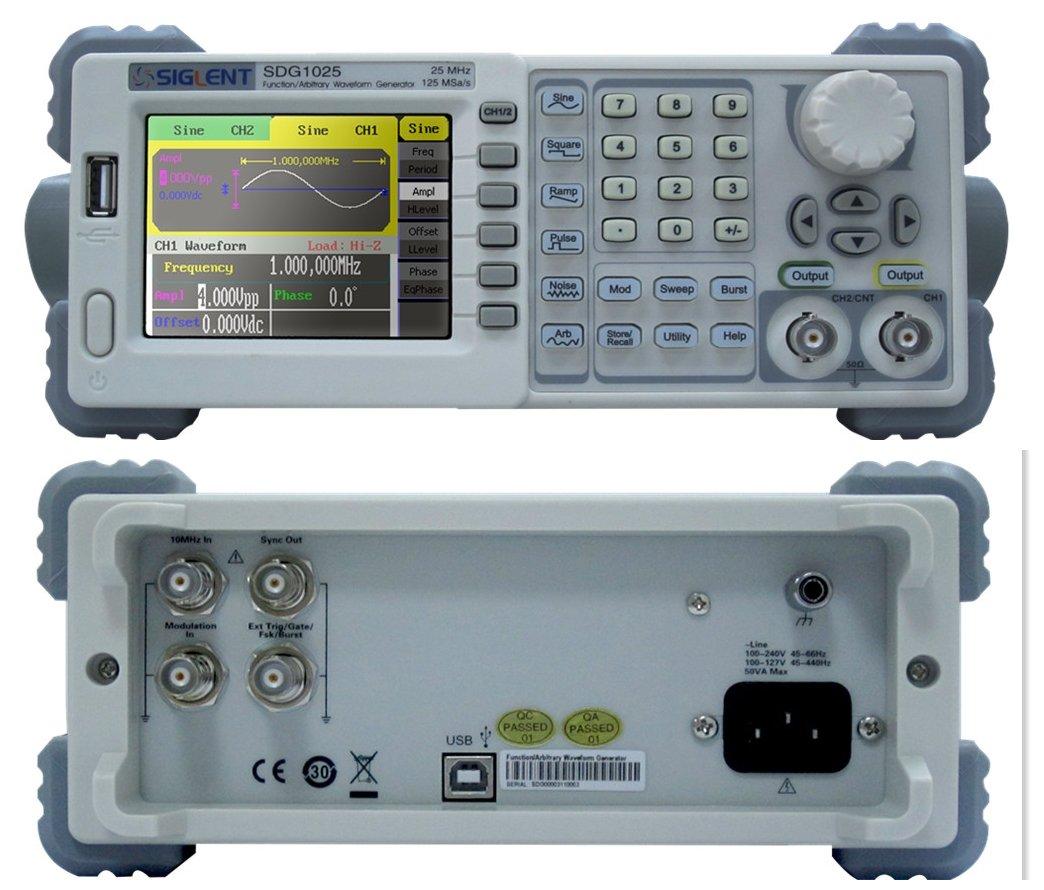 Siglent SDG1025 Digital Signal Generator Function/Arbitrary Waveform product image
