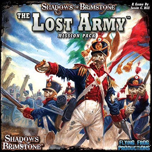 SHADOWS OF BRIMSTONE: The Lost Army Mission Pack Flying Frog Productions  07MP03