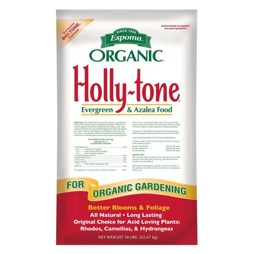 Espoma 50 lbs. Organic Holly Tone Evergreen & Azalea Food by Espoma (Image #1)
