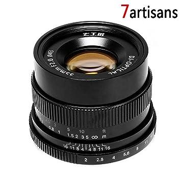 Amazon.com : 7Artisans Factory Direct 35mm f/2 F2.0-F16 Standard ...