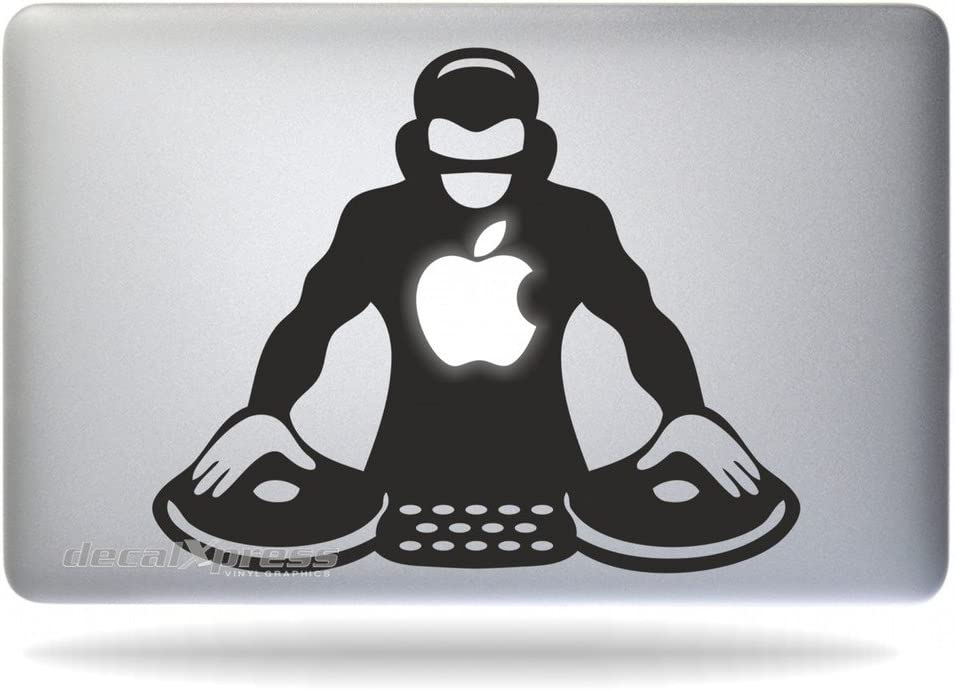 DJ Night Club- Decal Sticker for MacBook, Air, Pro All Models