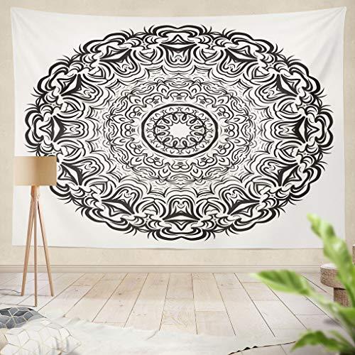 ala Floral Oriental Vintage Decorative Elements Hanging Tapestries 50 x 60 inch Wall Hanging Decor for Bedroom Livingroom Dorm ()