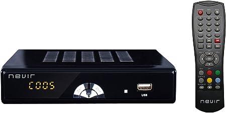 Nevir NVR-2597TDT2M Black/Chrome - Sintonizador de TV: Amazon.es ...