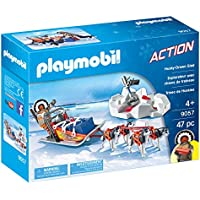 PLAYMOBIL® Husky-Drawn Sled Playset, Multicolor