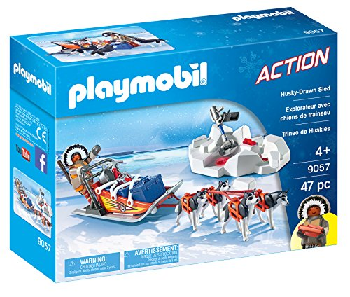 PLAYMOBIL® Husky-Drawn Sled