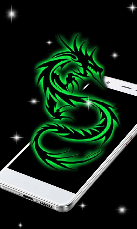 Amazon Com Neon Green Dragon Live Wallpaper Appstore For Android