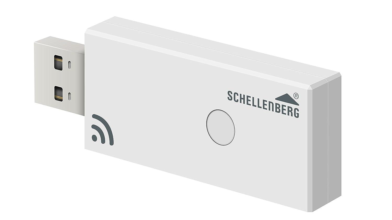 Schellenberg 21009 Smart Home Funk-Stick zur Steuerung von Schellenberg Funk-Produkten in einem QIVICON Smart Home System