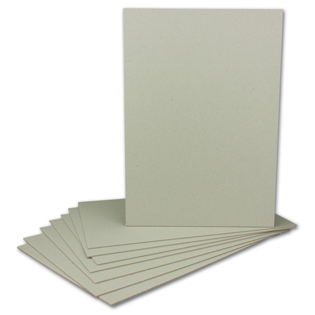 100 Stück Buchbinderpappe DIN A4   Stärke 2,0 mm   Grammatur  1230 g m²   Format  29,7 x 21,0 cm   Farbe  Grau-Braun   100 Stück B0756ZSPNG | Bestellung willkommen