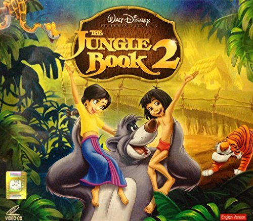 THE JUNGLE BOOK 2 VCD BY WALT DISNEY *** IMPORTED FROM HONG KONG ***
