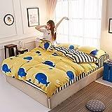 3-Piece Set 4 Piece student kit marine tour 3 Piece Set - the set, the set of 2.22.4m, bedspreads 2.32.5m