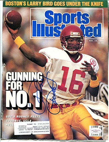 Rodney Peete Signed Sports Illustrated Cover Only Auto USC JSA# F45476