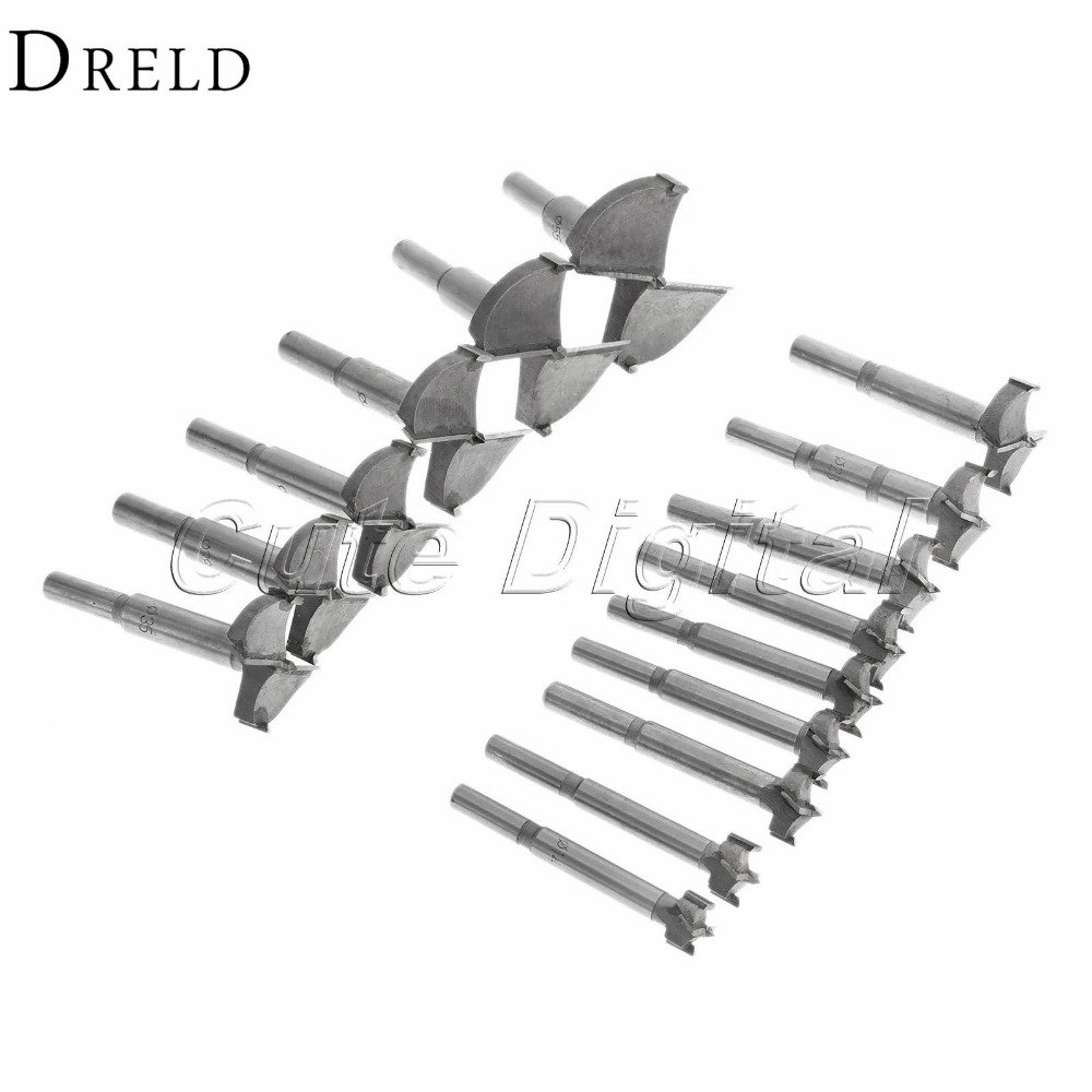 10mm Forstner Cemented Carbide Woodwork Boring Wood Hole Saw Cutter Drill Bit