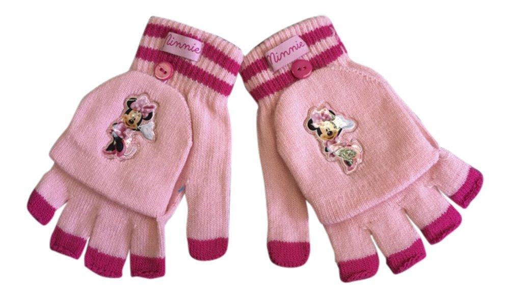 Disney–Minnie invernale termico guanti a manopola Fingerles in ciliegia e rosa DISMM_0930