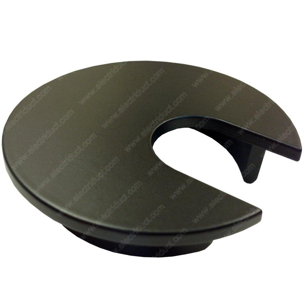 2'' Metal Desk Grommet - Color: Black - 10 Pieces