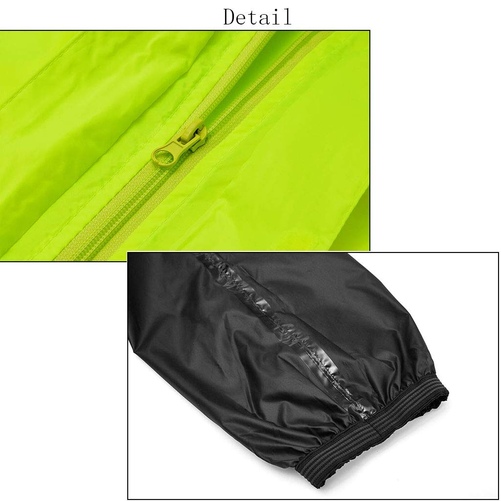 Regenbekleidung für Wasserdichte Sportbekleidung Regenanzug für Männer und Frauen Wiederverwendbare Wiederverwendbare Wiederverwendbare Regenkleidung (Regenjacke und Regenhose Set) Erwachsene wasserdicht regendicht Winddicht mit Kapuze B07P98BTNZ Jacken Einzelhandelspreis 438c0e