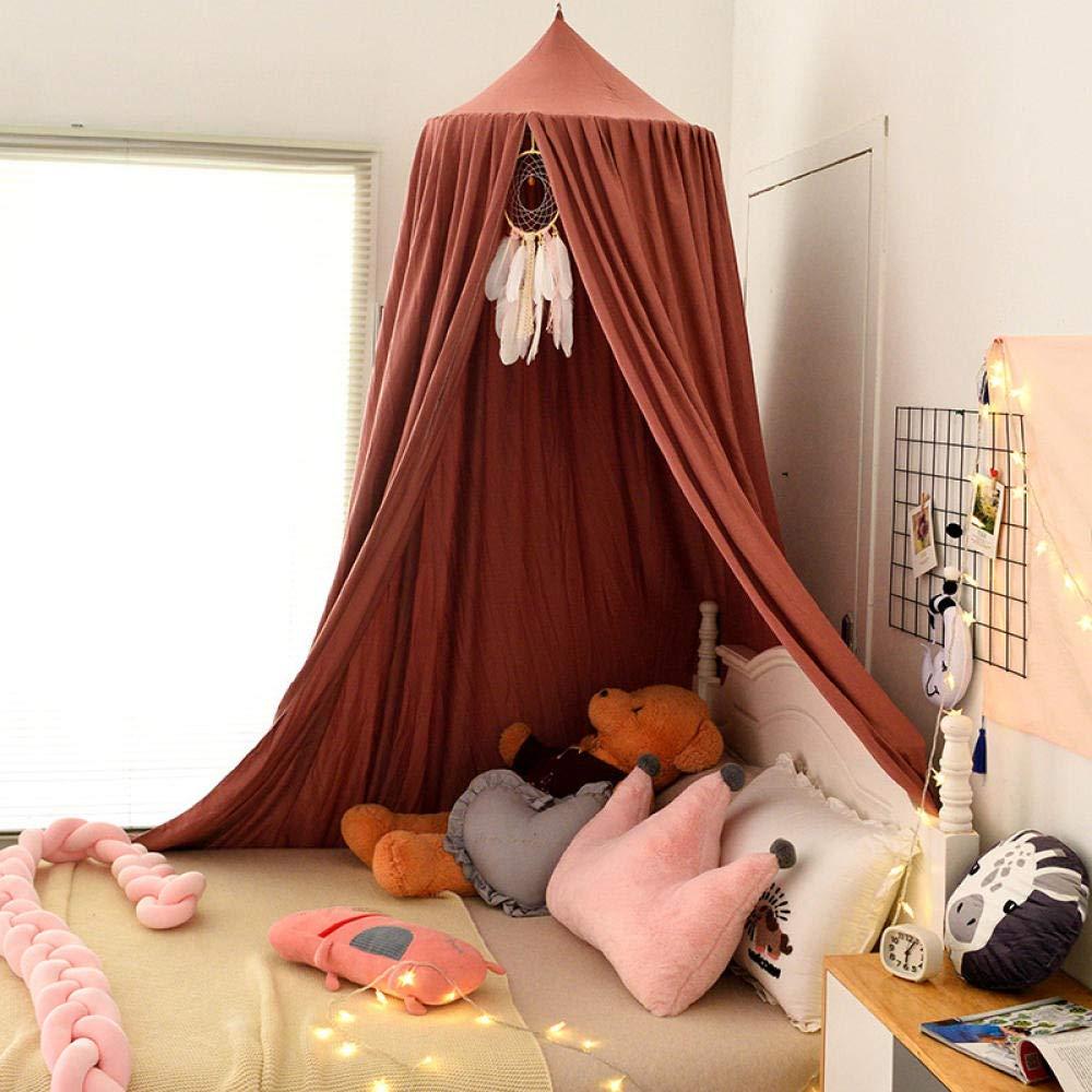 Kuppel Krippe Mantel Beschattung Winddichten Bett Vorhang Winddichten Vorhang Kinderzimmer Nachttisch Dekoration Freie Installation Anti-Fliegen-Blau/_Kuppeldurchmesser 65Cm