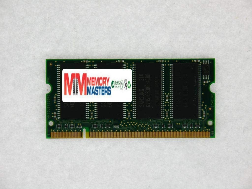 MemoryMasters 512MB DDR SODIMM (200 Pin) 333Mhz DDR333 PC2700 CL 2.5 512 MB for Dell Compatible (Renewed)
