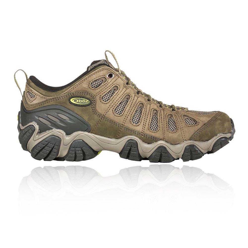 Oboz Men's Sawtooth Low Hiking Shoes, Umber Brown 8