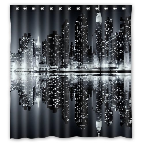 Amazon.com: Unique and Generic New York Skyline Black And White ...