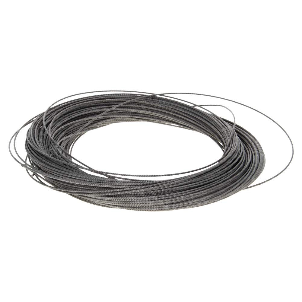 Othmro Wire Rope Flexible Metal Wire Rope Cable 2.5mm Diameter 10 Meter Length 1pcs